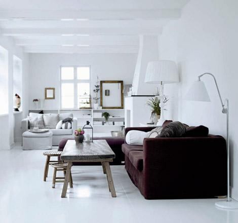 Pitkä olohuone