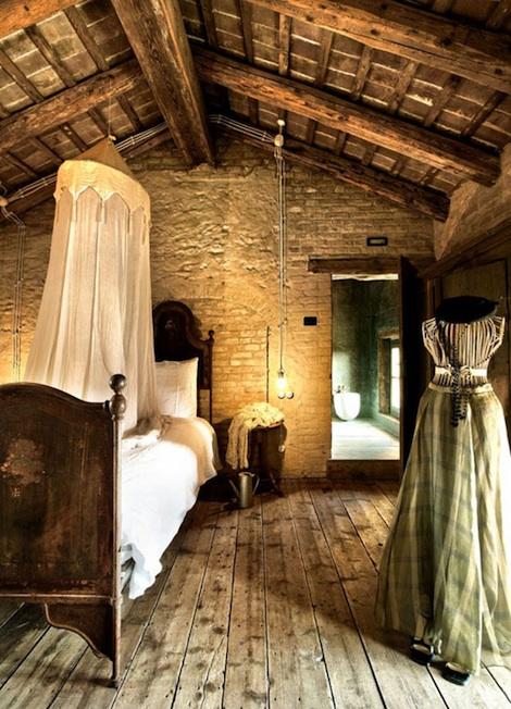 Rustiikkinen unelma Italiassa  Sisustusblogi