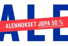 Finnish Design Shop talvi ALE 2018