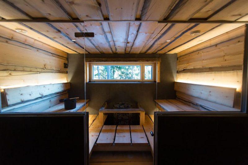 Hawkhill Villa Juhani sauna