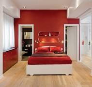 makuuhuone-punainen