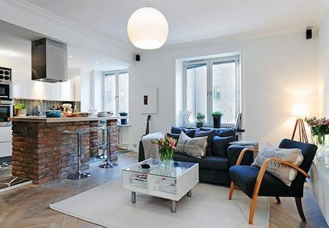 Pienen asunnon sisustaminen sisustusblogi for Pisos de apartamentos modernos