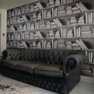 fake_bookshelf_wallpaper