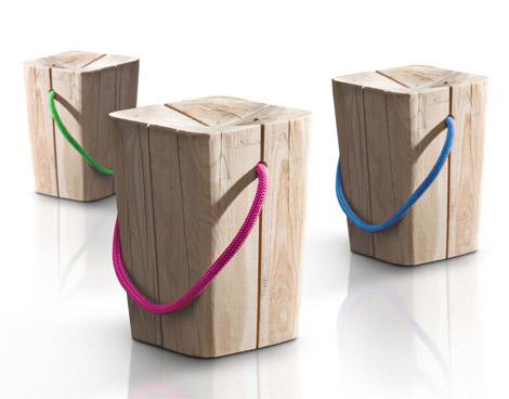 Design house björk jakkara, vaaleanharmaa, korkea