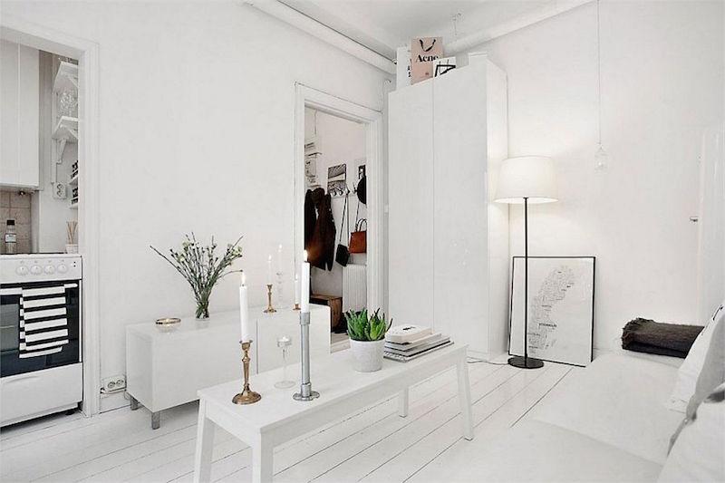 Pieni Asunto Valkoinen Sisustus 5 Sisustusblogi