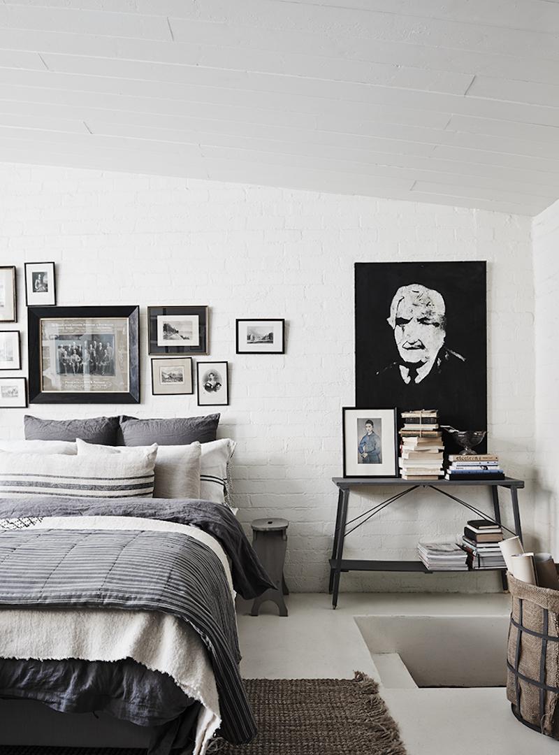 teollinen-vintage-makuuhuone