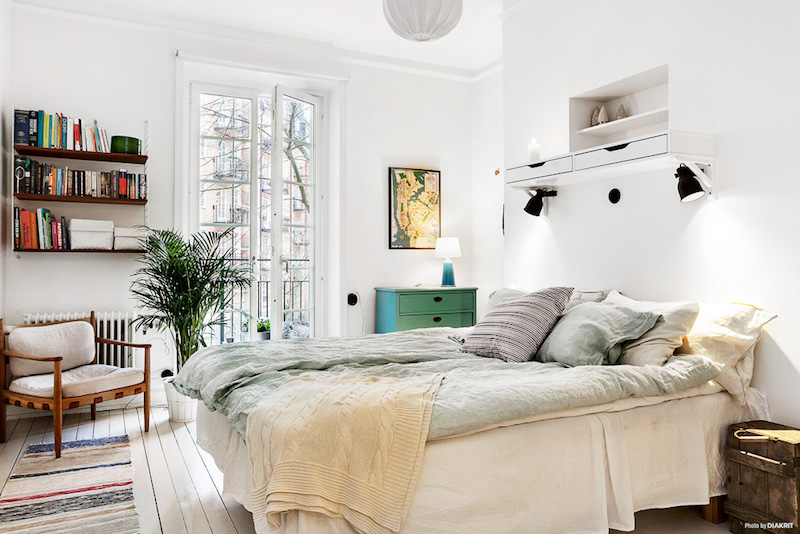 makuuhuone-valoisa-sisustus