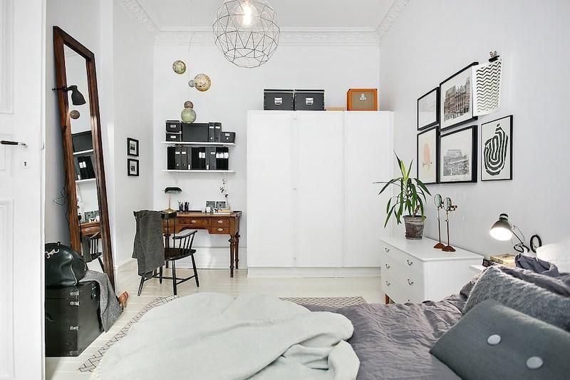 makuuhuoneen-sisustus-valkoiset-puulattiat