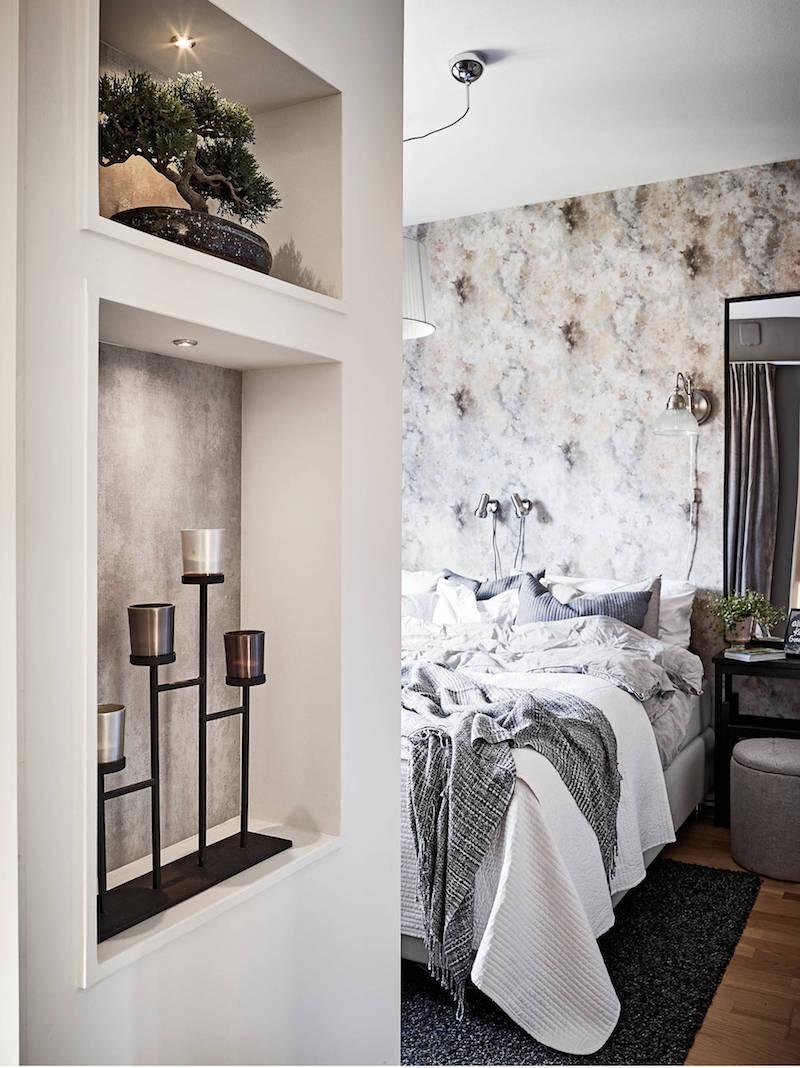 makuuhuone-seinahylly-persoonallinen-kodikas-sisustus