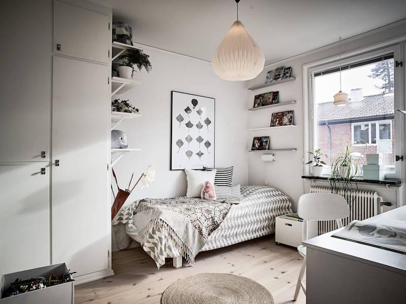 modernisti-vintage-lastenhuone