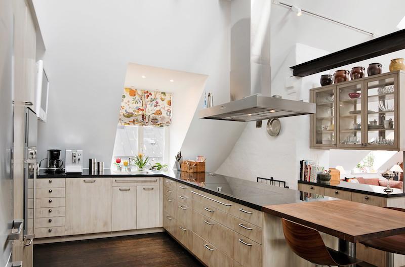 kattohuoneisto-sisustus-keittio