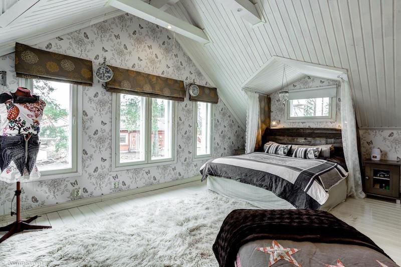 maalais-sisustus-makuuhuone
