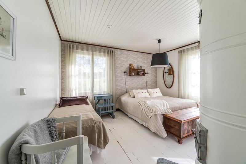 maalaistunnelmaa-makuuhuone