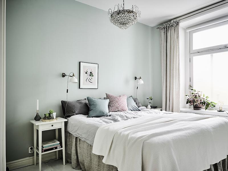 sisustus-tyyli-sekoitus-makuuhuone
