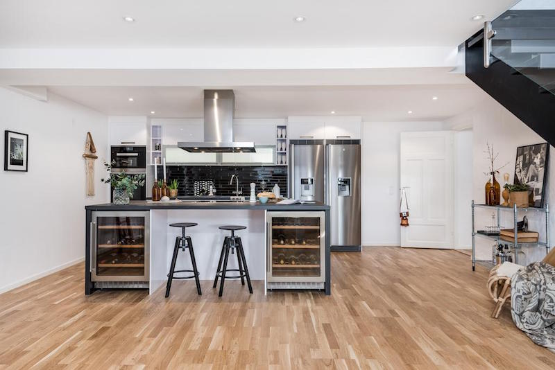 elegantti-sisustus-kattohuoneisto-keittio