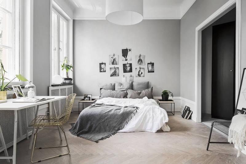 graafinen-rento-sisustus-makuuhuone