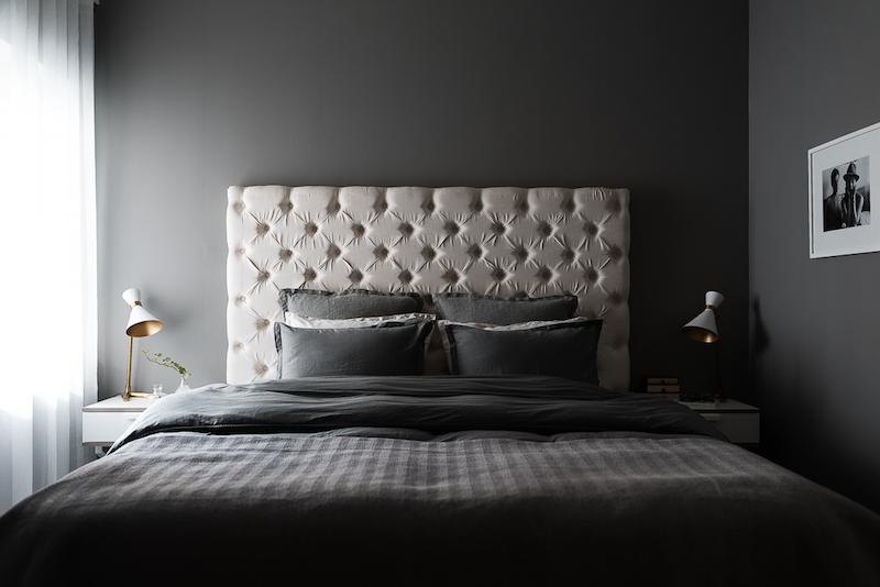 mustavalkoista-graafisuutta-makuuhuone