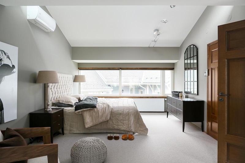 sisustus-puu-valkoinen-makuuhuone