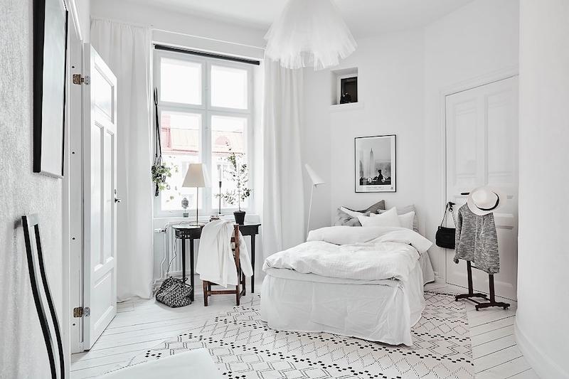 vanhasta-uutta-sisustus-valkoinen-makuuhuone