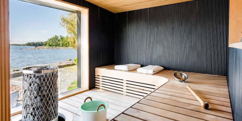 luksusta-merenrannassa-sauna