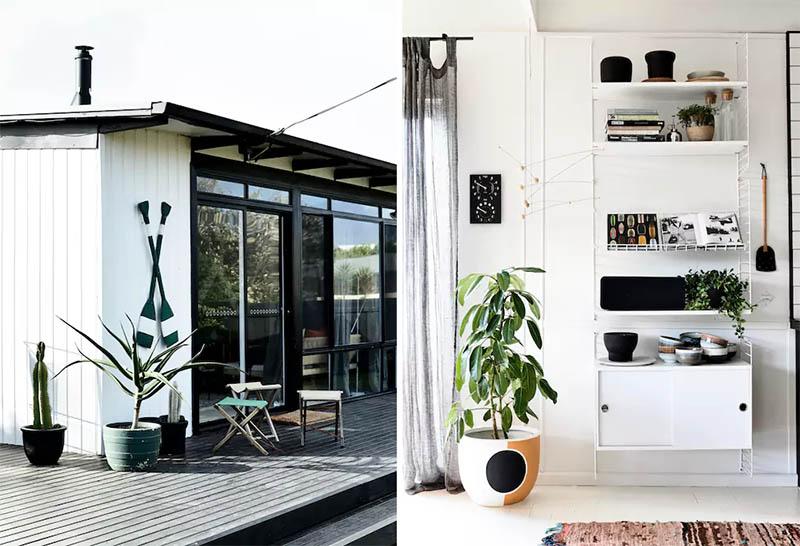 airbnb-australia-sisustus-mustavalkoinen