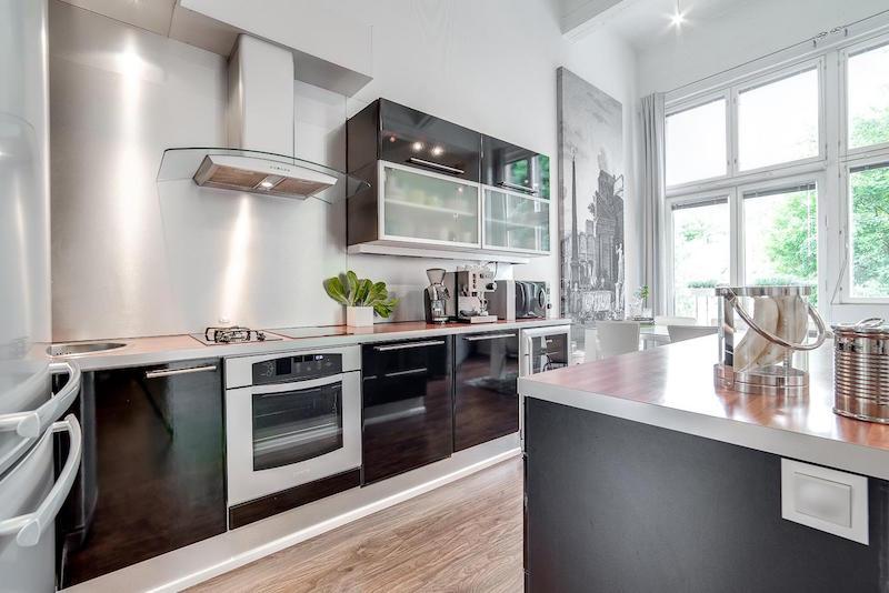 loft-asunto-sisustus-moderni-keittiokalusteet