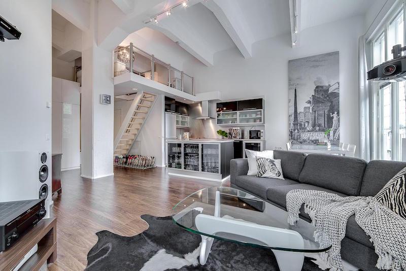 loft-asunto-sisustus-moderni-oleskelutila