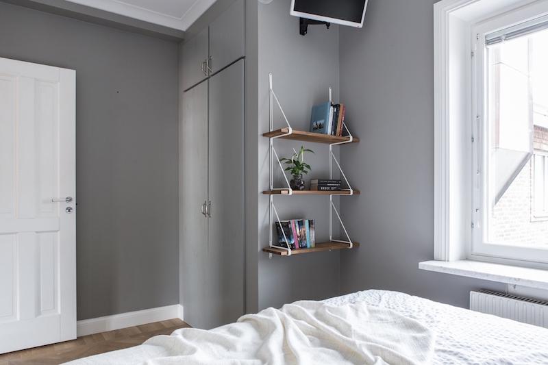 pieni-kaksio-sisustus-makuuhuone