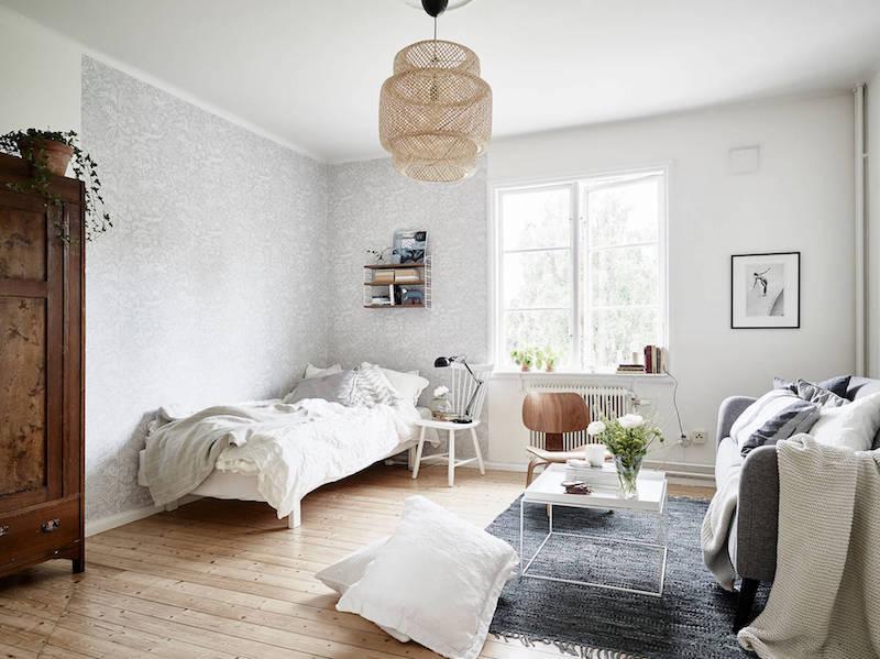 puu-valkoinen-sisustus-olohuone