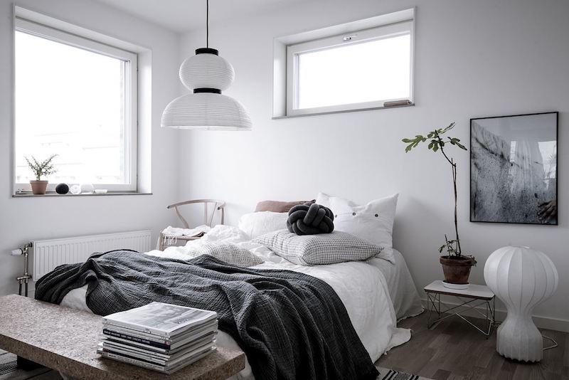 skandinaavinen-sisustus-koti-makuuhuone