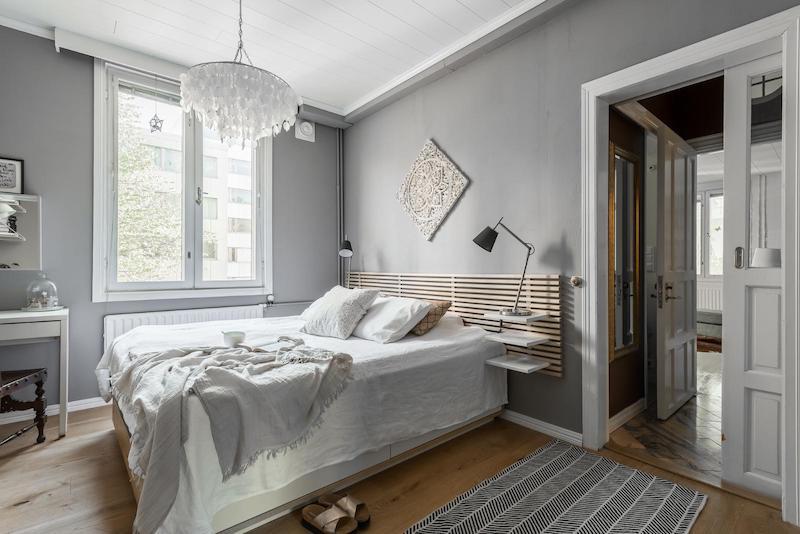 sisustus-vanhaa-ja-uutta-makuuhuone-sangynpaaty