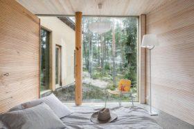 moderni-luksuspirtti-makuuhuone