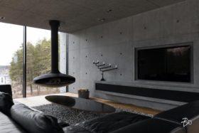 minimalismi-betoni-sisustus-takka