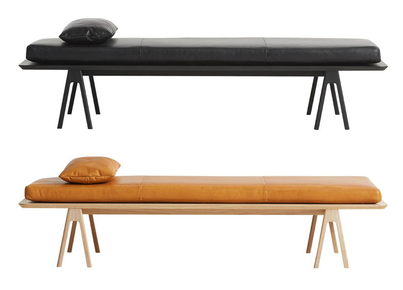 Woud Level daybed nahka