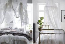 Sänkykatos makuuhuoneessa