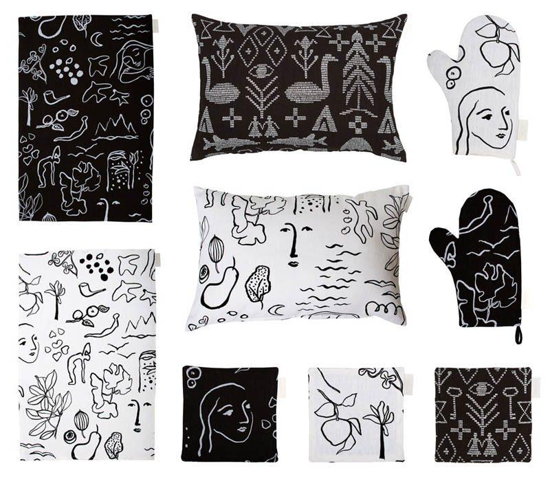 Saana ja Olli  tekstiilit