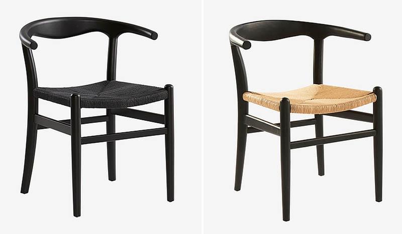 Nattavaara tuoli, musta