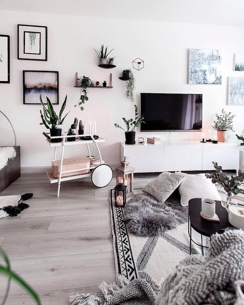 2xilo, olohuoneen sisustus