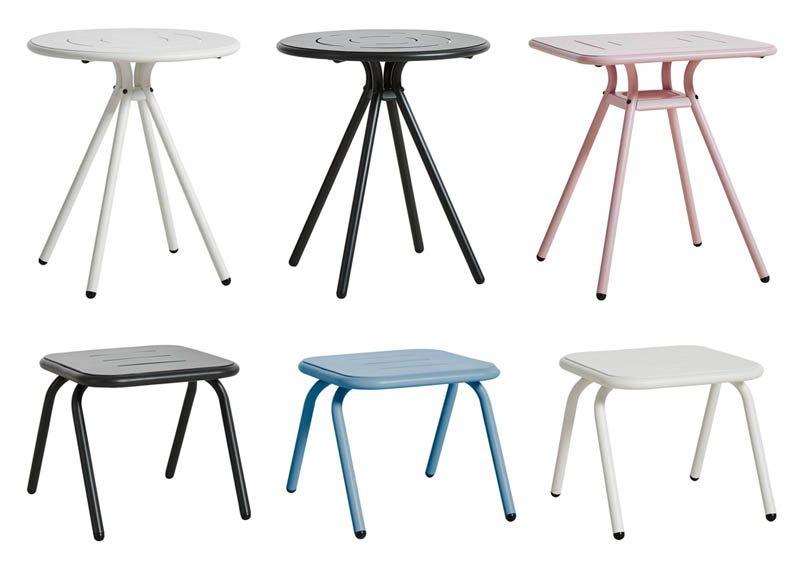 Woud Ray pöydät