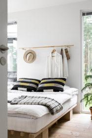 sisustus-puu-yksityiskohdat-makuuhuone