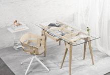 Design House Stockholm Arco työpöytä