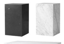 Menu Plinth marmoripöytä