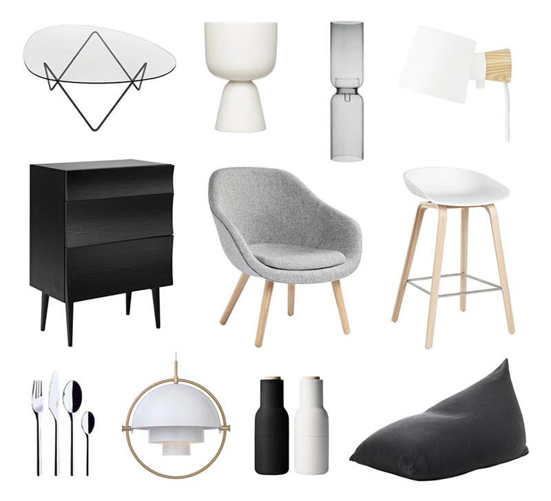 Sisustus ja huonekalut kotiin